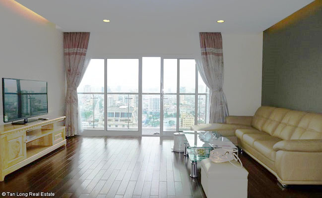 Gorgeous 3 bedroom apartment for rent in Lancaster Tower  Ba Dinh  Hanoi. Gorgeous 3 bedroom apartment for rent in Lancaster Tower  Ba Dinh