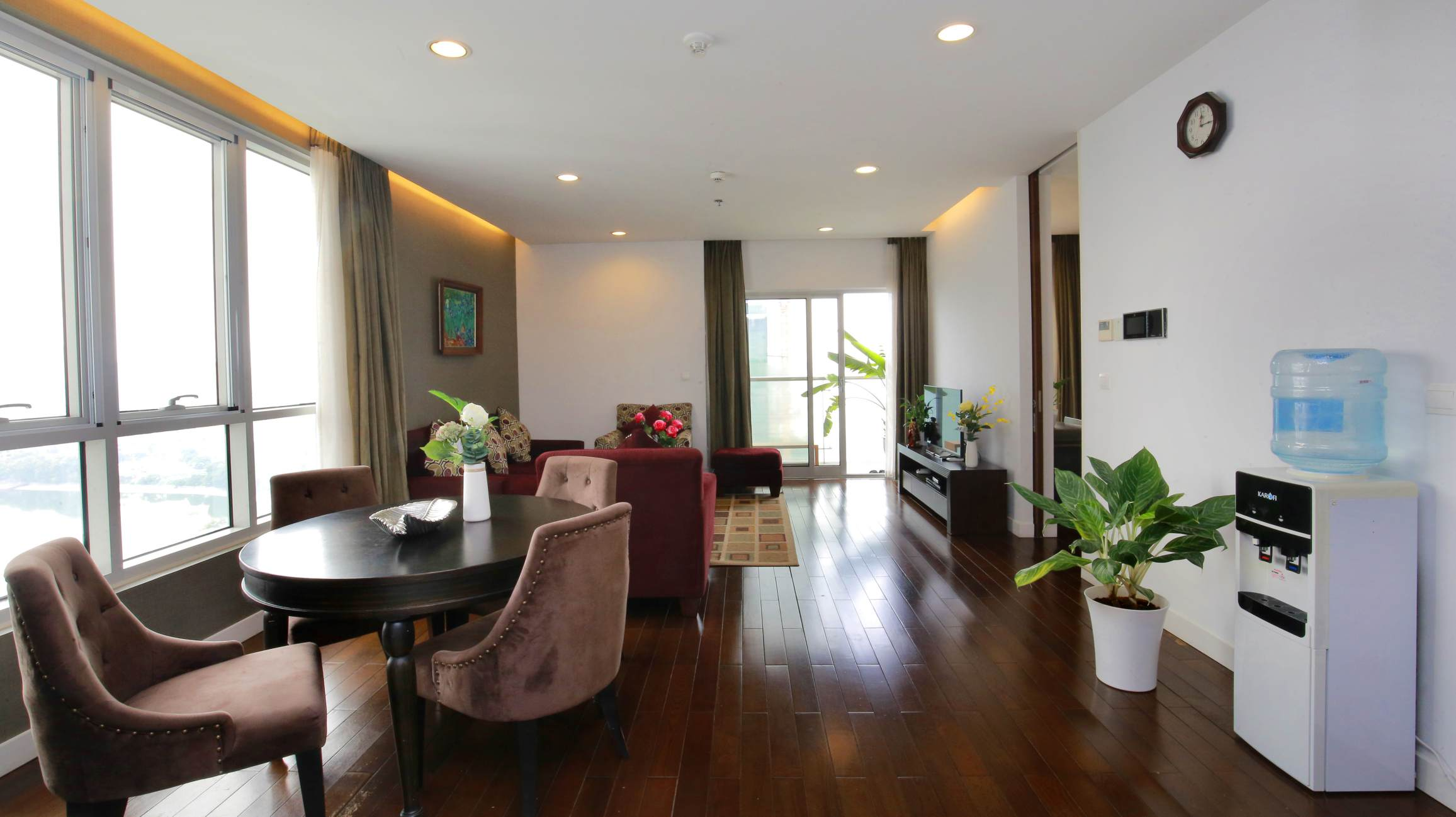 Lakeview 2 Bedroom Apartment For Rent On 19F Lancaster Hanoi