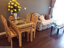 Full furnished 1 bedroom apartment for rent in Lancaster Tower, Ba Dinh, Hanoi