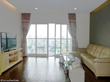 Gorgeous 3 bedroom apartment for rent in Lancaster Tower, Ba Dinh, Hanoi