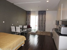 High-end studio apartment for rent in Lancaster Nui Truc, Ba Dinh, Hanoi