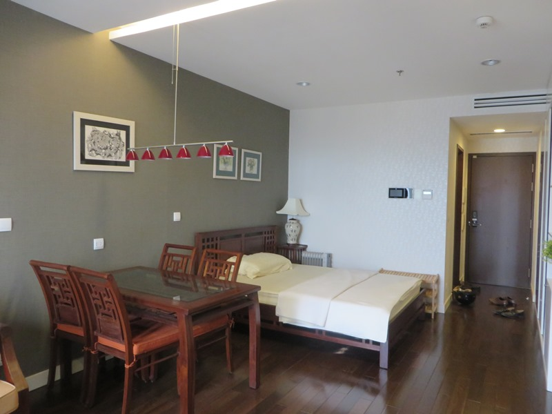 Renting nice apartment with 1 bedroom 1 bathroom in lancaster tower ba dinh hanoi for Apartment 1 bedroom 1 bathroom